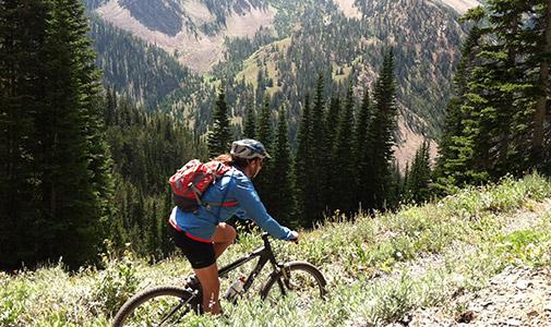 Biking West Yellowstone