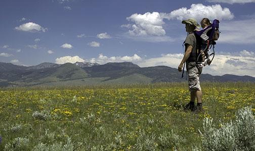 Hiking West Yellowstone