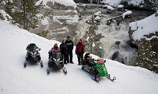 West Yellowstone Snowmobiling