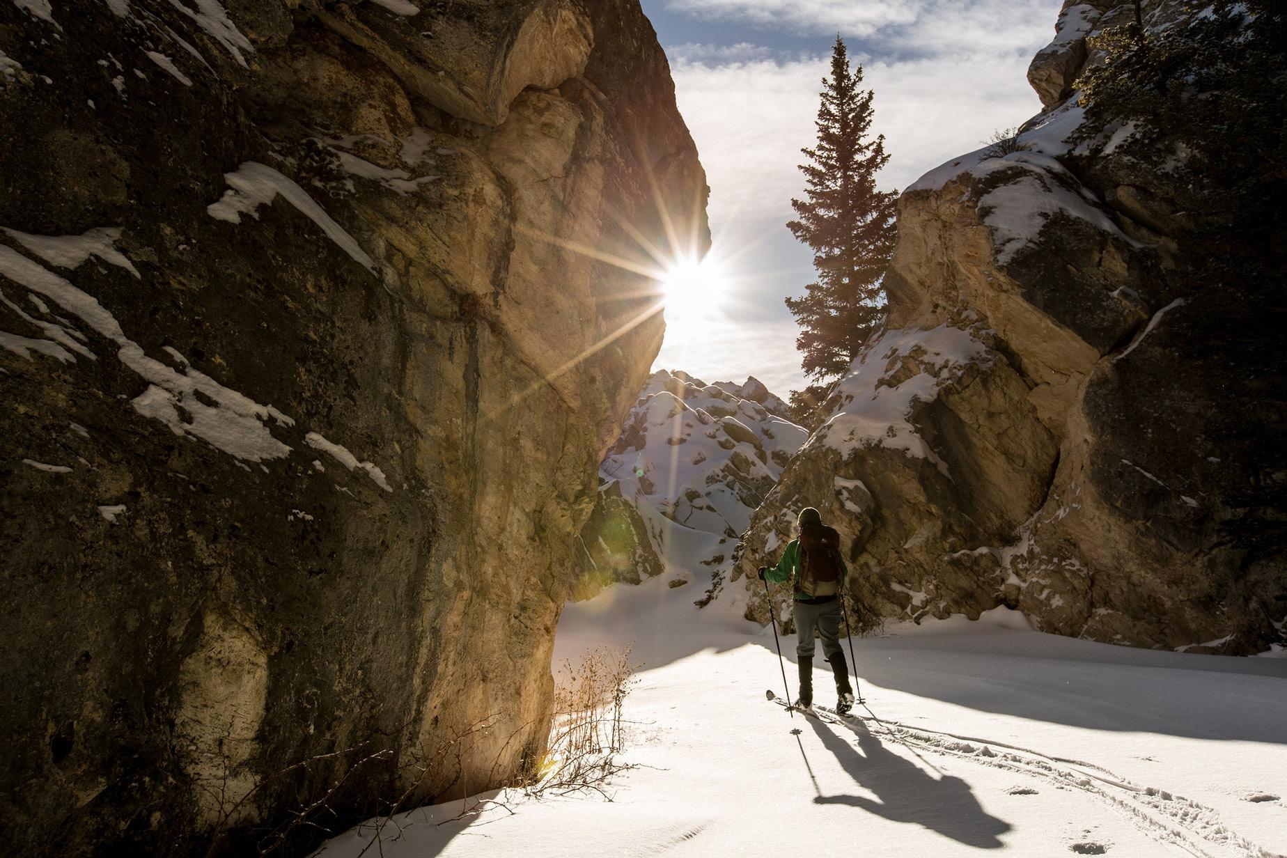West Yellowstone Winter