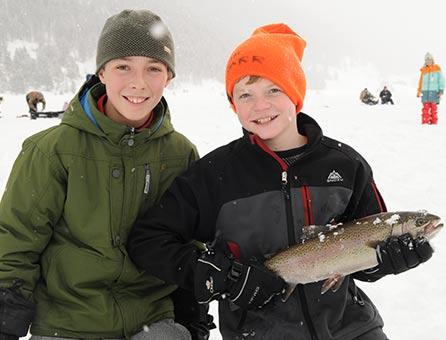 West Yellowstone Ice Fishing