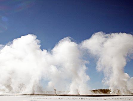 West Yellowstone winter scenics