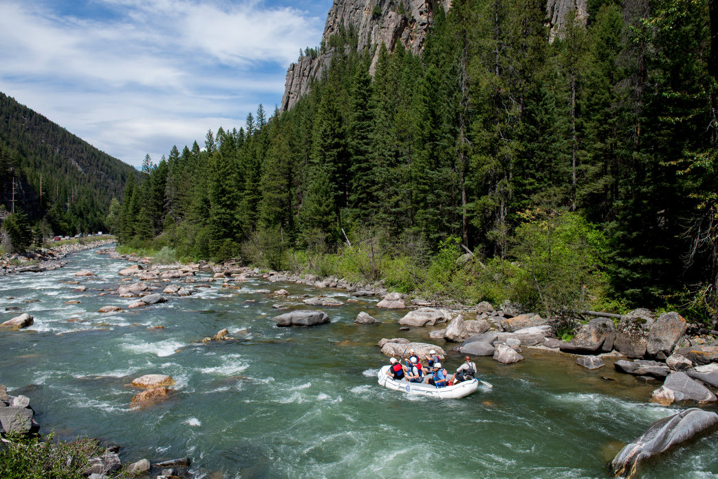 Montana West Yellowstone Gallatin River
