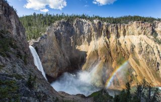 Montana West Yellowstone upper n lower Falls