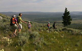 West Yellowstone hike